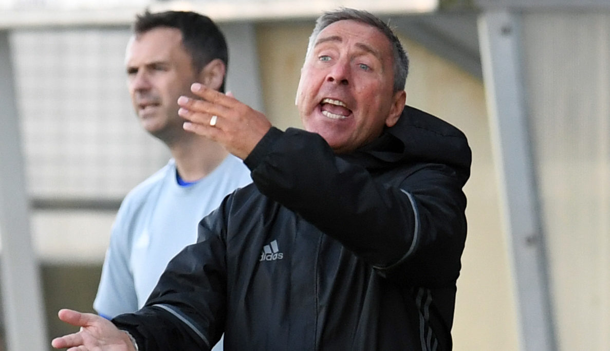 Peterhead manager Jim McInally (SNS Group)