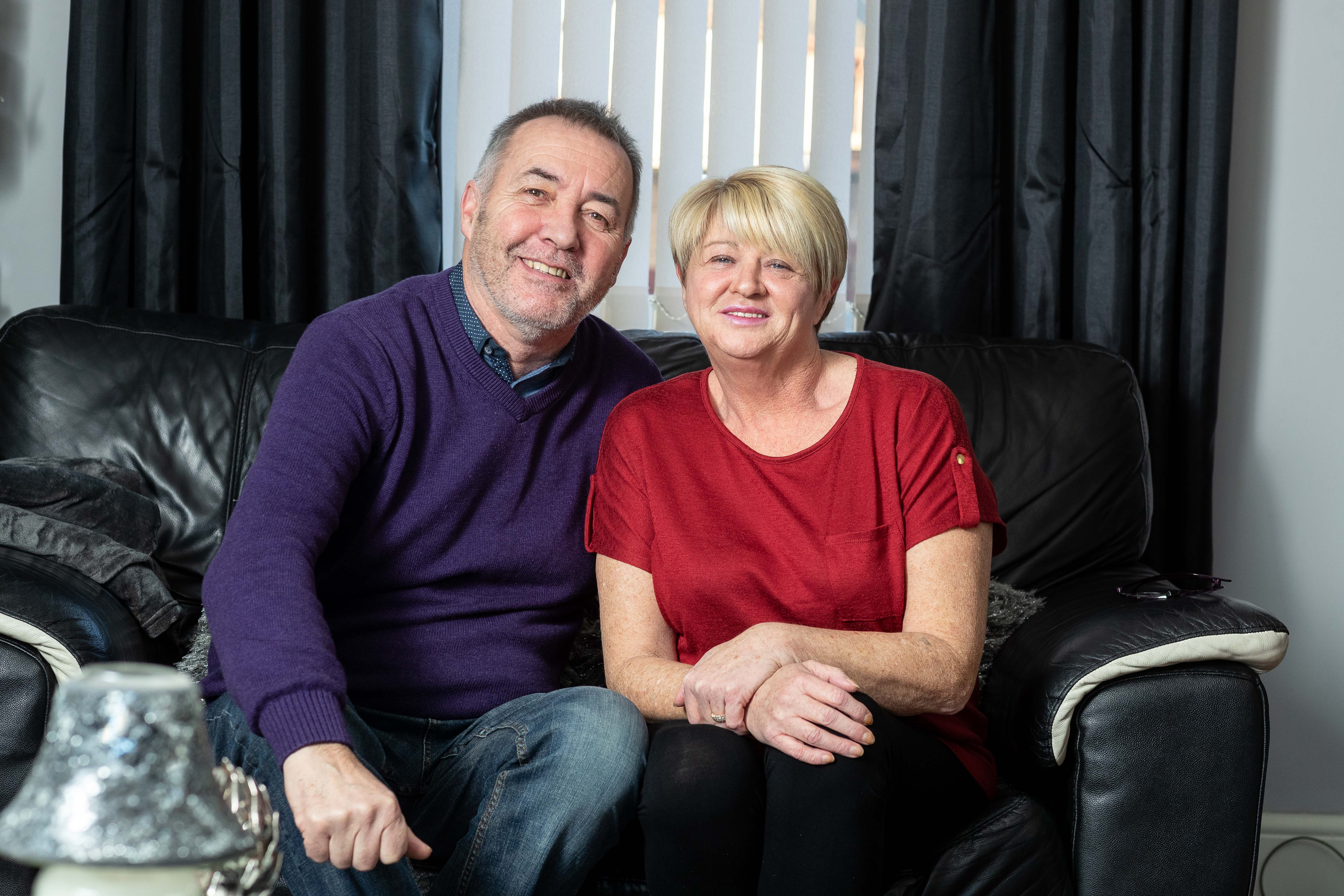 Sandra Murray's brother in law Dave Nelson, 63, is taking part in Bowel Cancer UK's 'Decembeard' fundraising campaign to raise awareness and funds. (Derek Ironside).