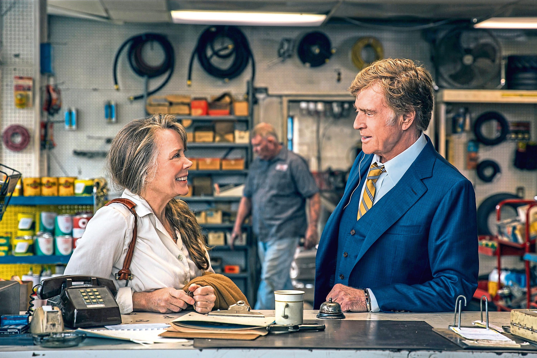 "Sissy Spacek as ""Jewel"" and Robert Redford as ""Forrest Tucker"" in The Old Man & The Gun (Eric Zachanowich./ Twentieth Century Fox Film Corporation)"