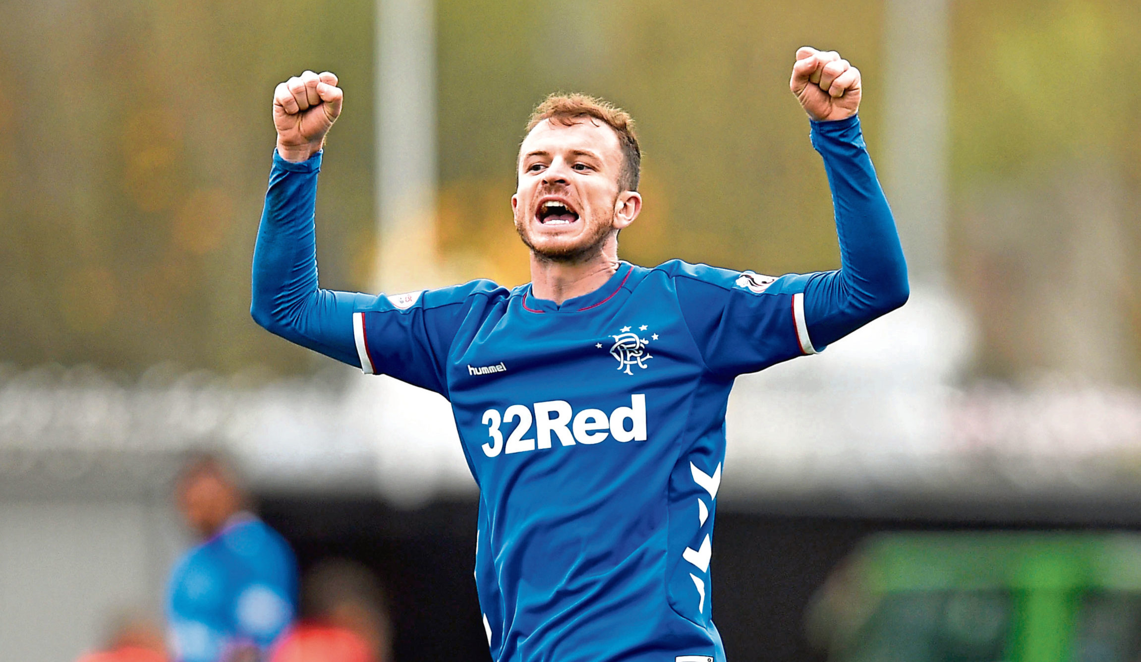 Rangers' Andy Halliday (SNS Group)
