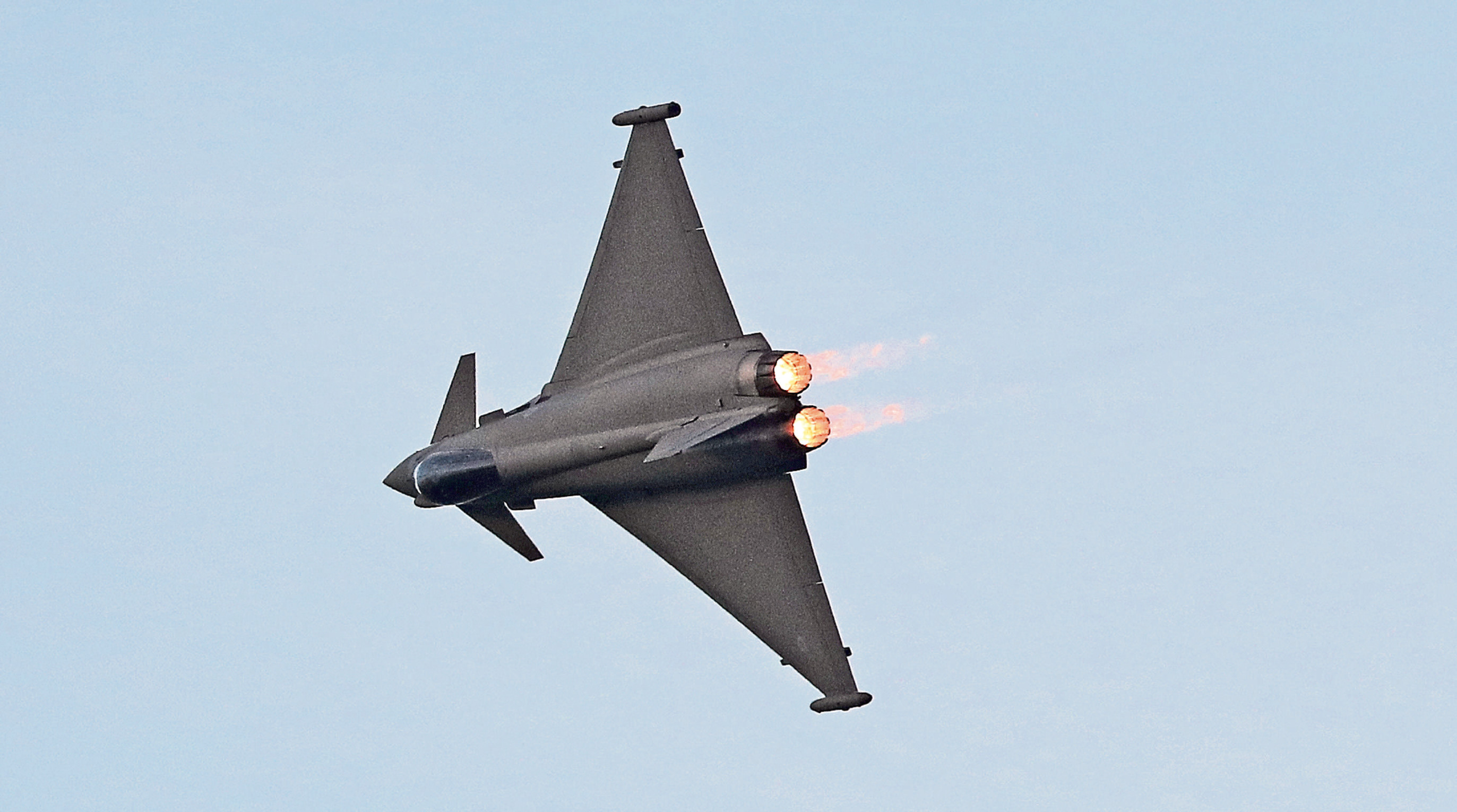 Official probe reveals RAF fighter jets were just seconds