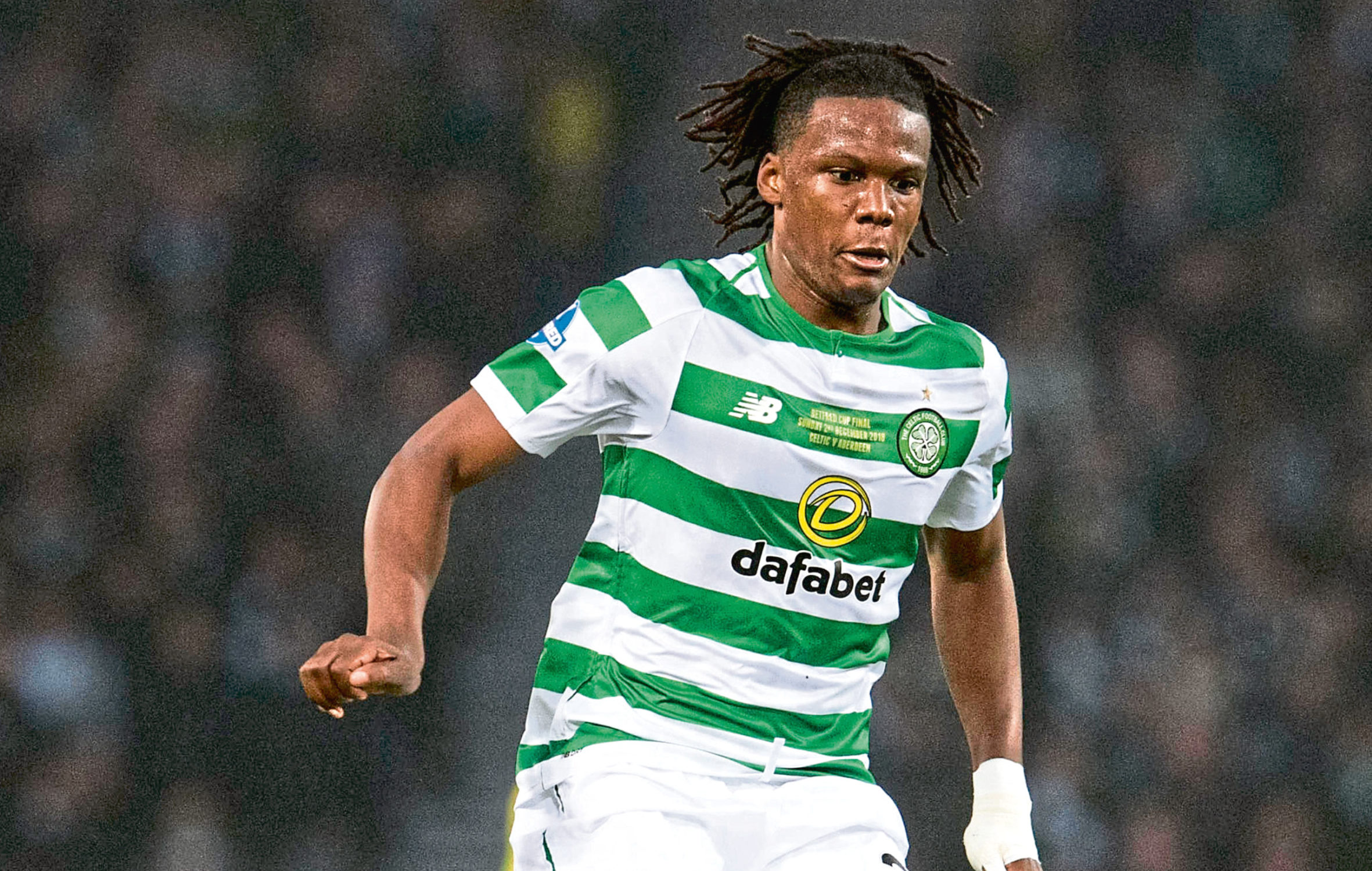 Dedryck Boyata in action for Celtic (SNS Group)