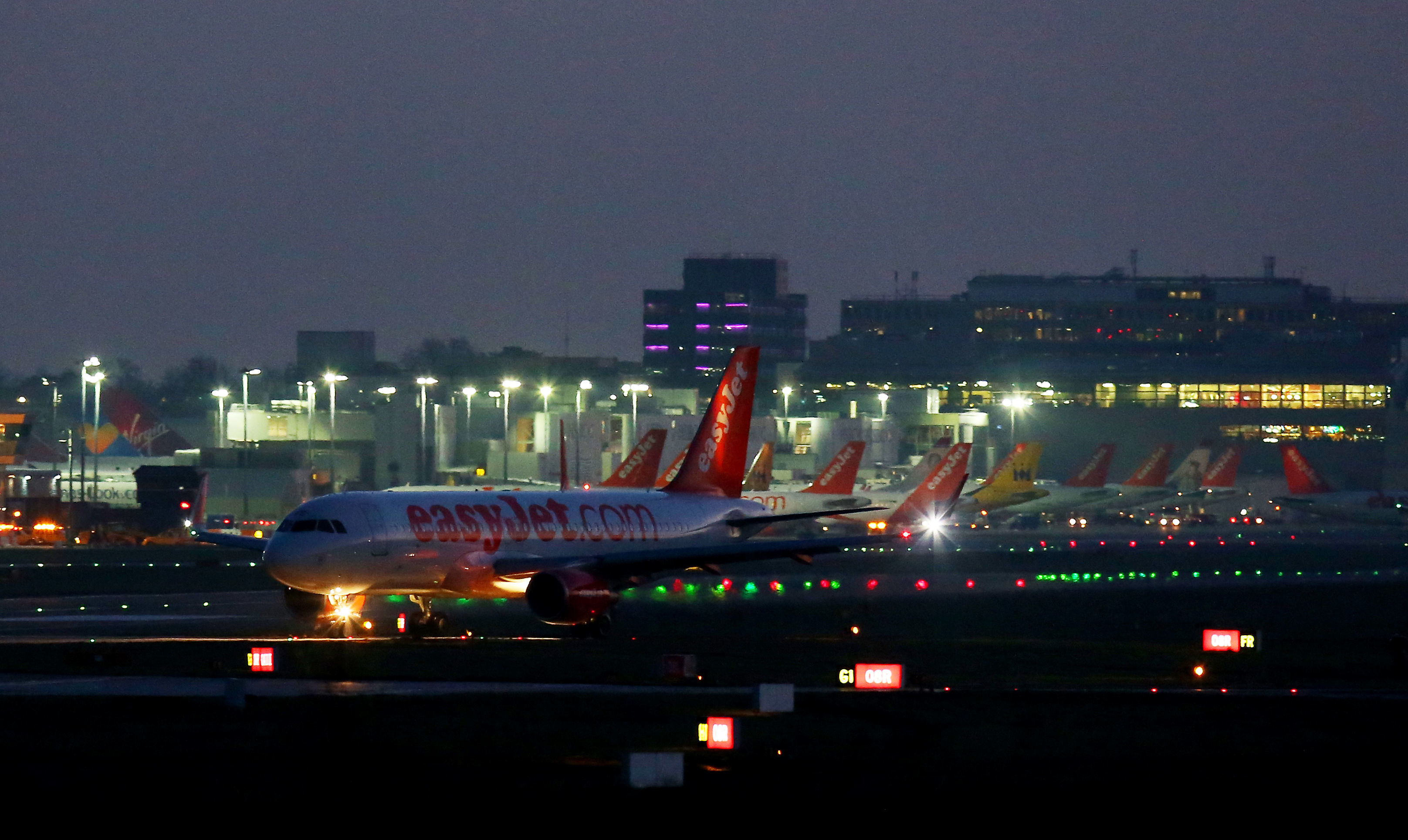 Gatwick Airport (Gareth Fuller/PA Wire)