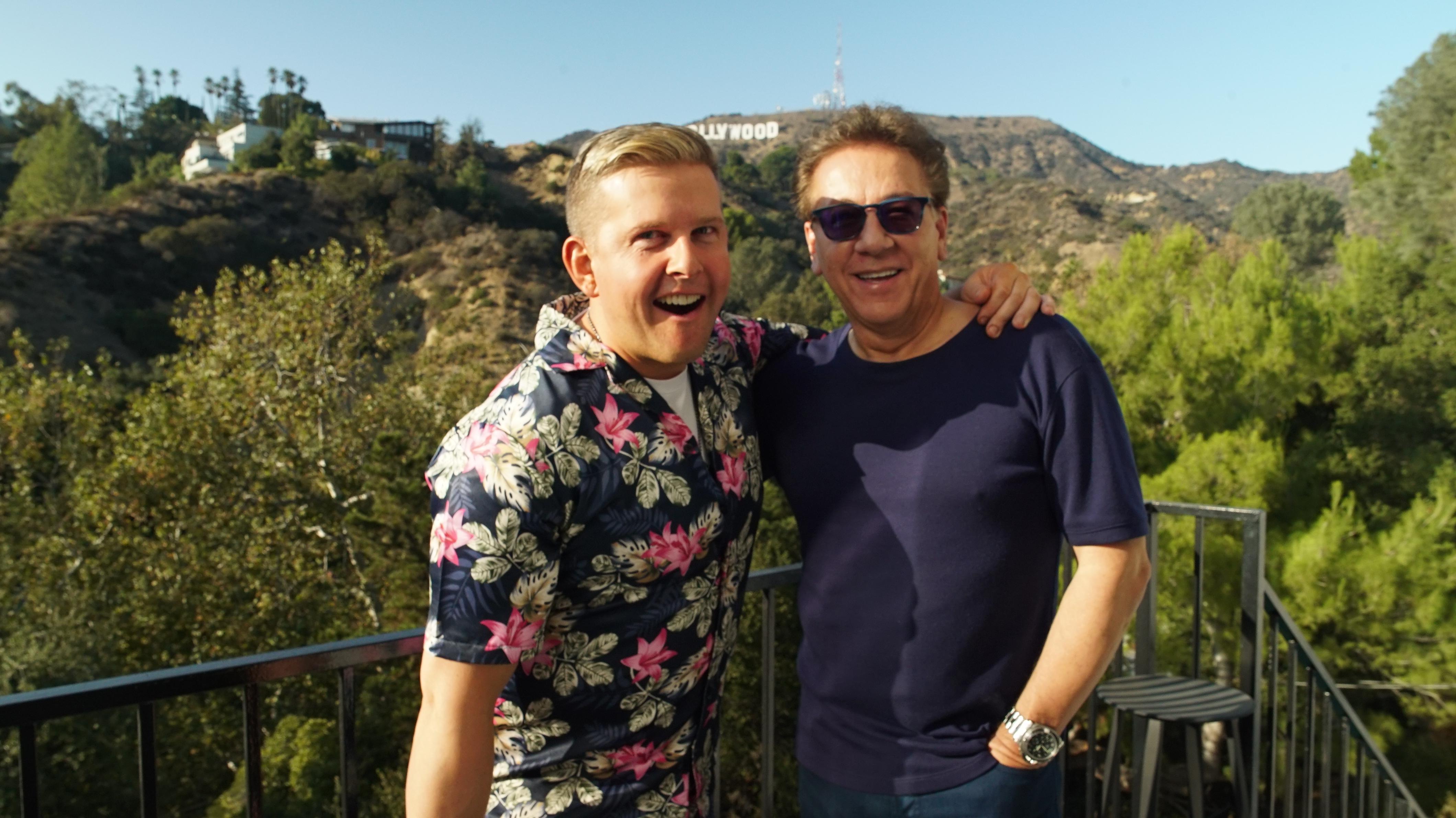 Ross with Greg McHugh
