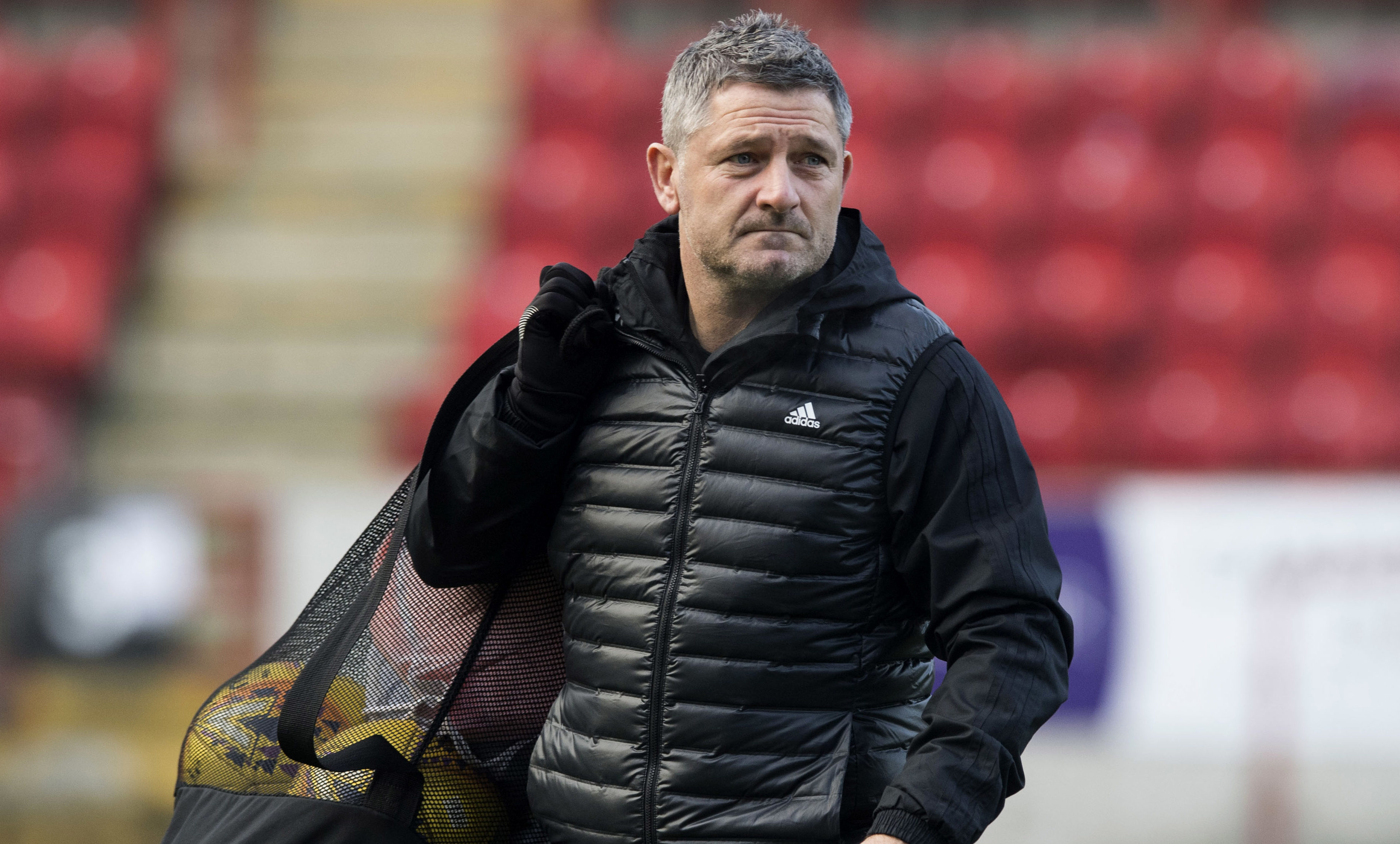 Aberdeen assistant manager Tony Docherty (SNS Group)