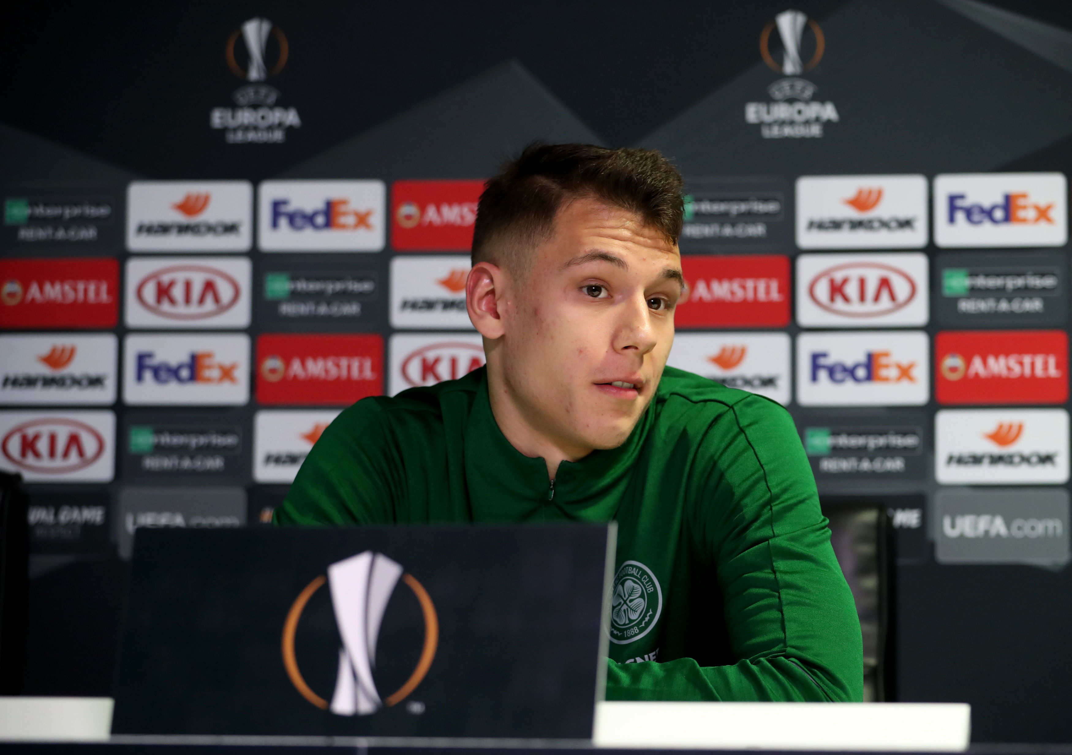Celtic's Filip Benkovic (Jane Barlow/PA Wire)