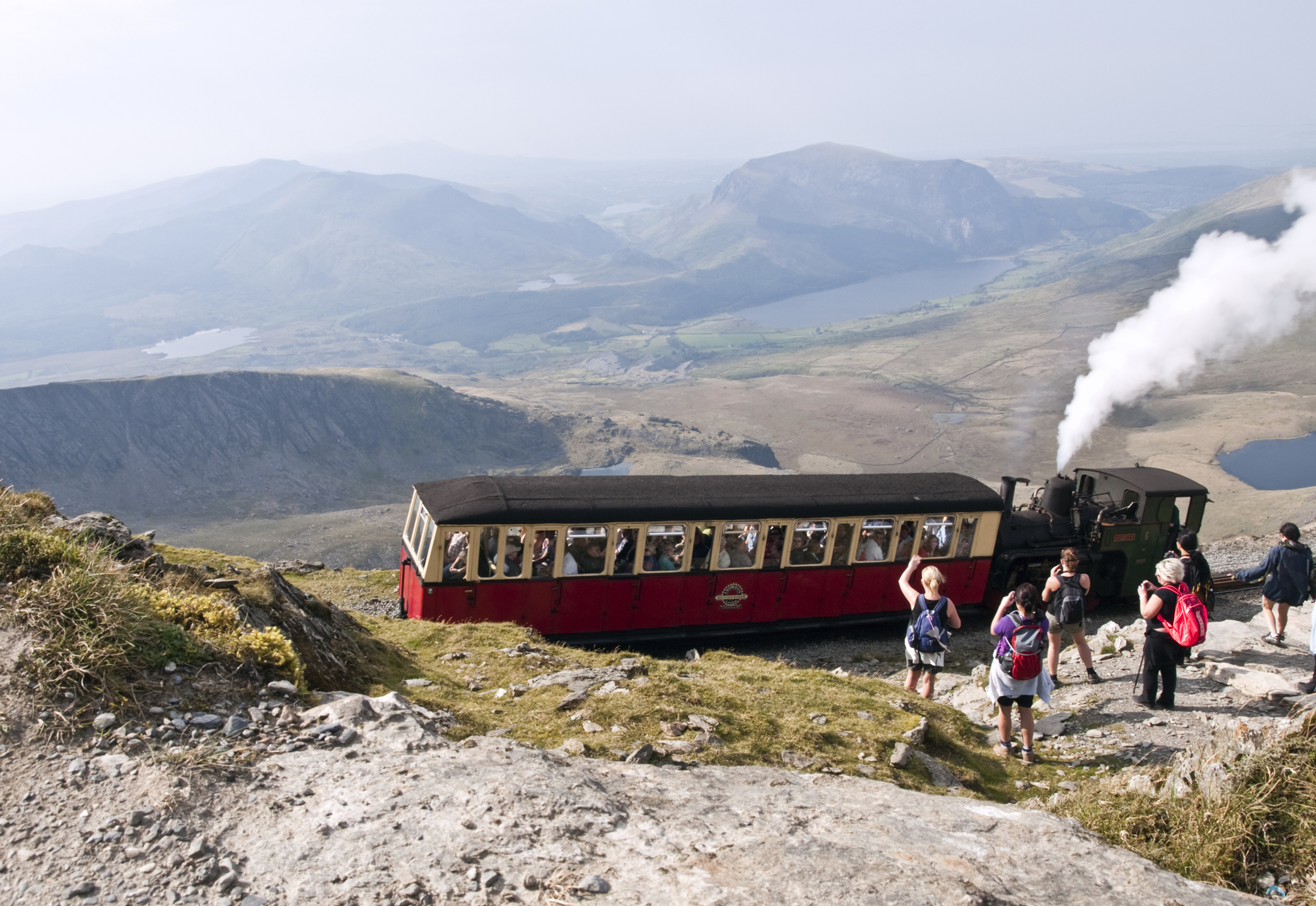 Mount Snowdon, North Wales.
