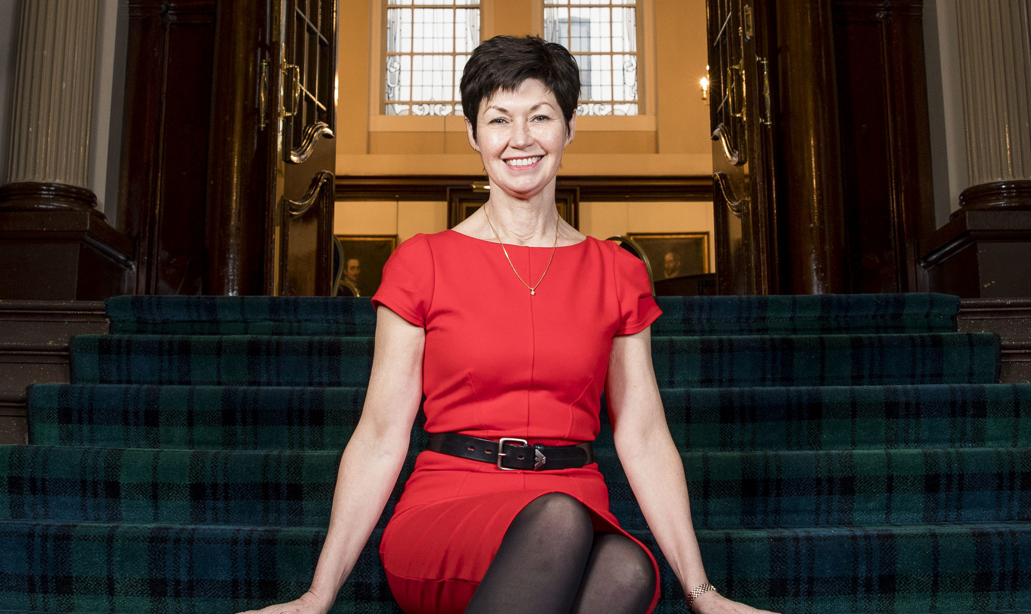 Jackie Taylor in the Royal College where she is first female president (Andrew Cawley / DC Thomson)