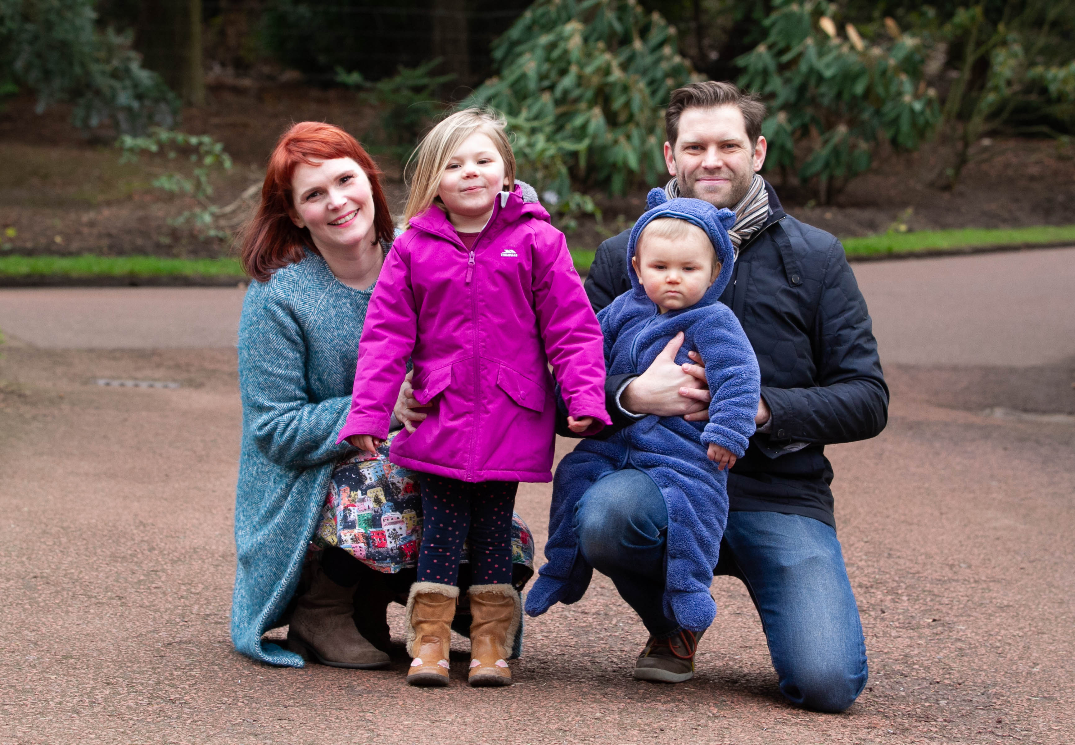 Gemma and Paul Skelding, who had three miscarriages in two years, with Marin and Odin (Chris Austin / DCT Media)