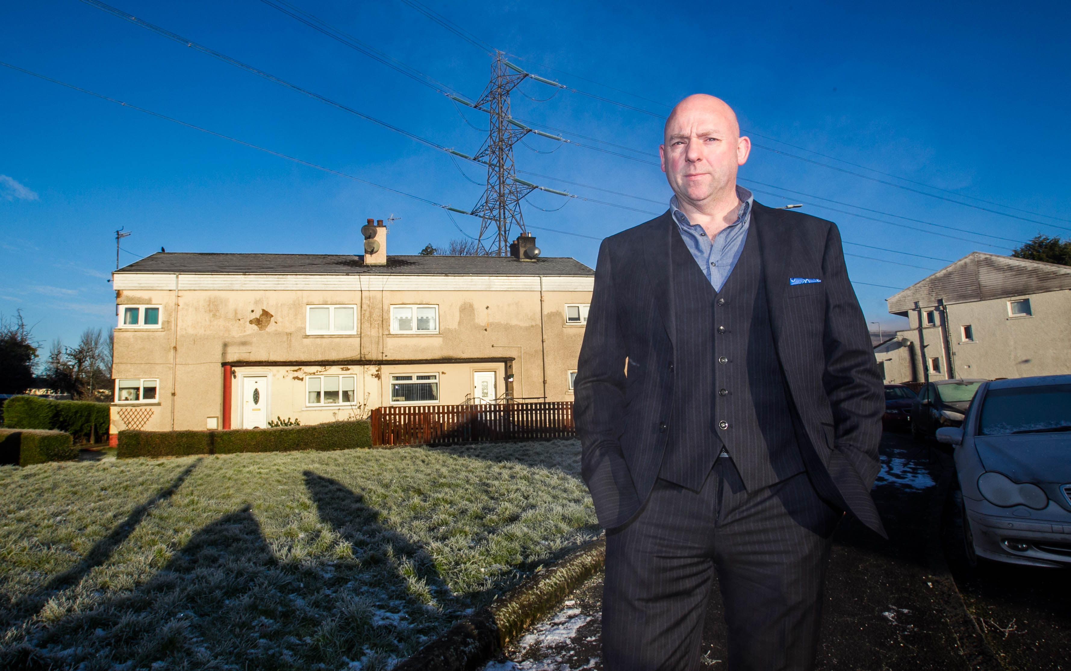 Graham Clark had to wait a long time for compensation for having an electricity pylon in his back garden that he already moved. Thanks to Raw Deal we got his money.
