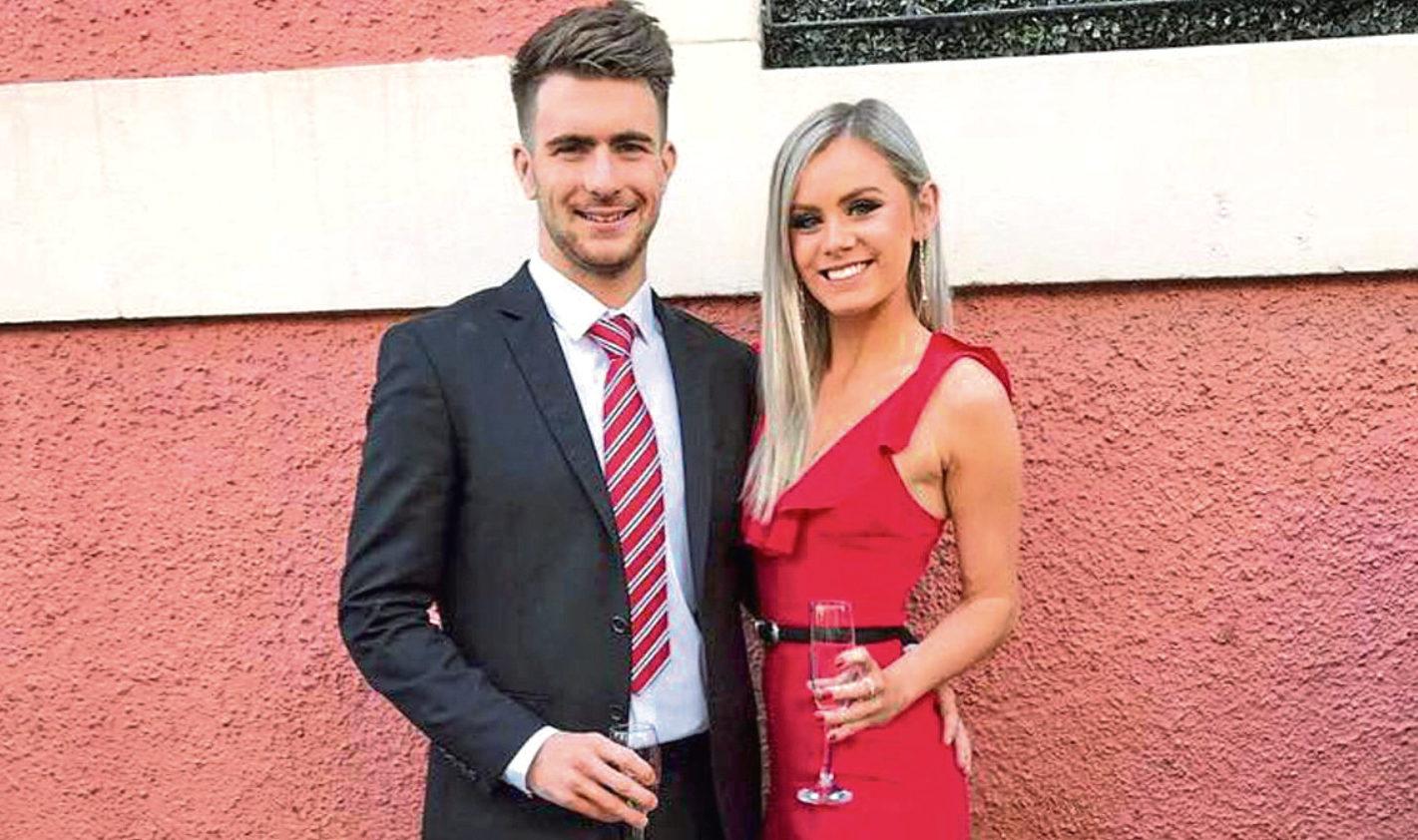 Scott Calder and girlfriend Madison Watson