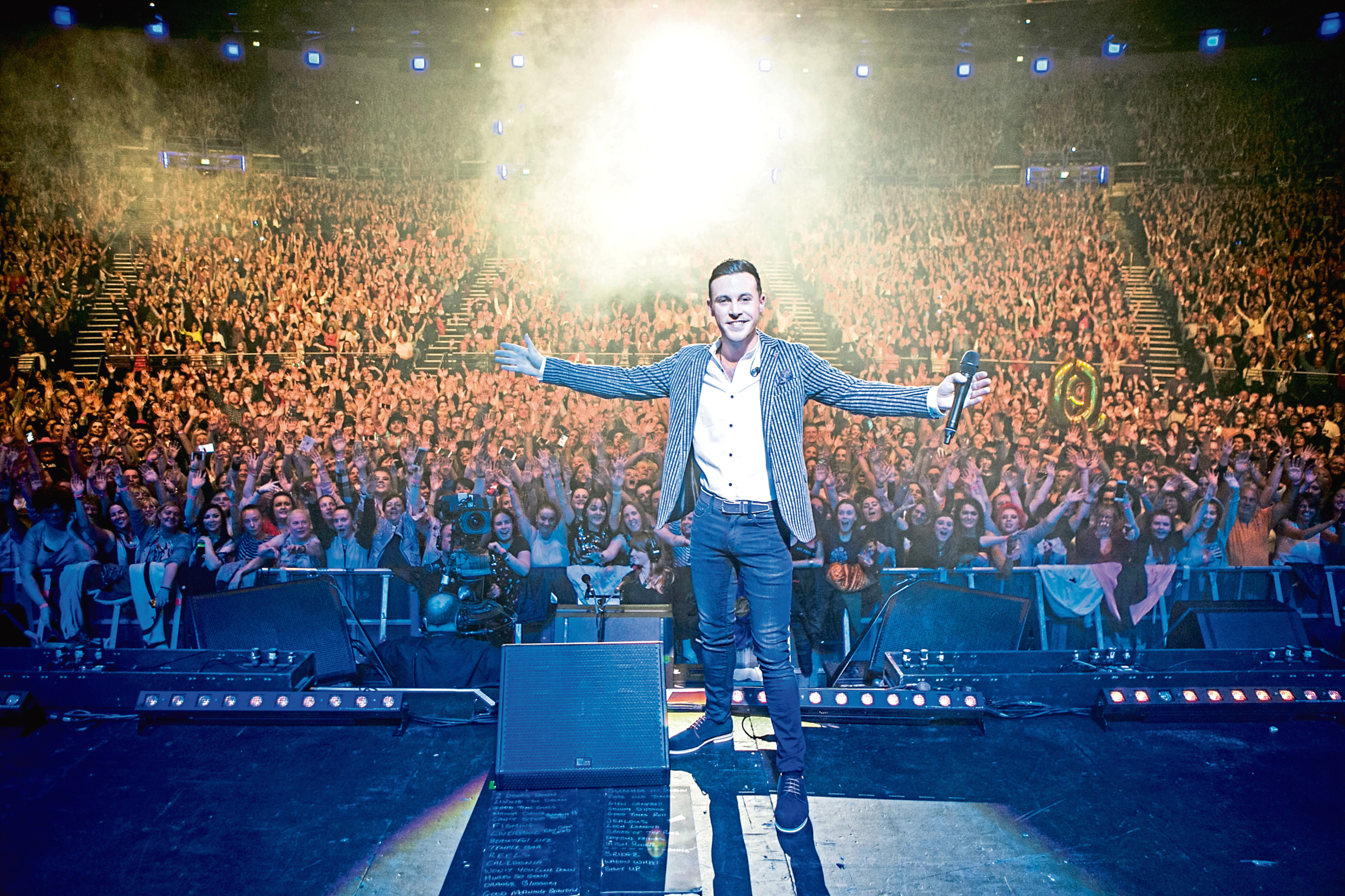 Nathan Carter's Born For The Road tour begins this month