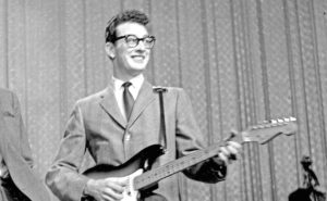 Buddy Holly, 1958 (Steve Oroz/Michael Ochs Archives/Getty Images)