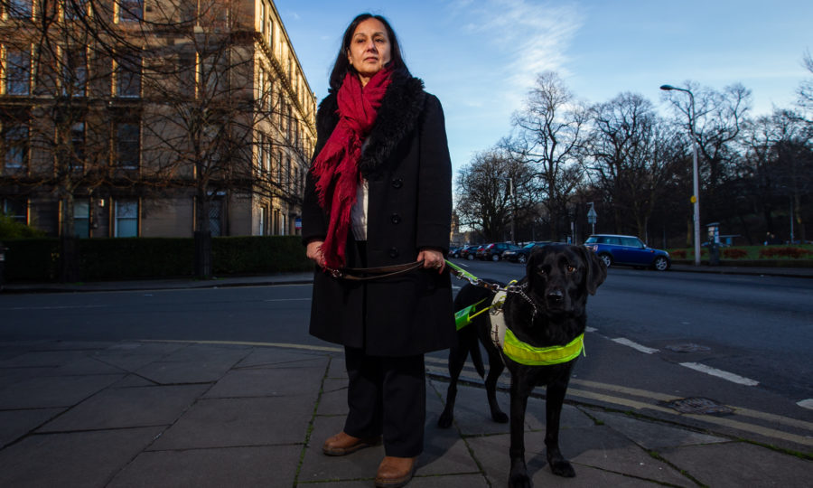 Blind Injustice Experts Warn Visually Impaired Are Losing