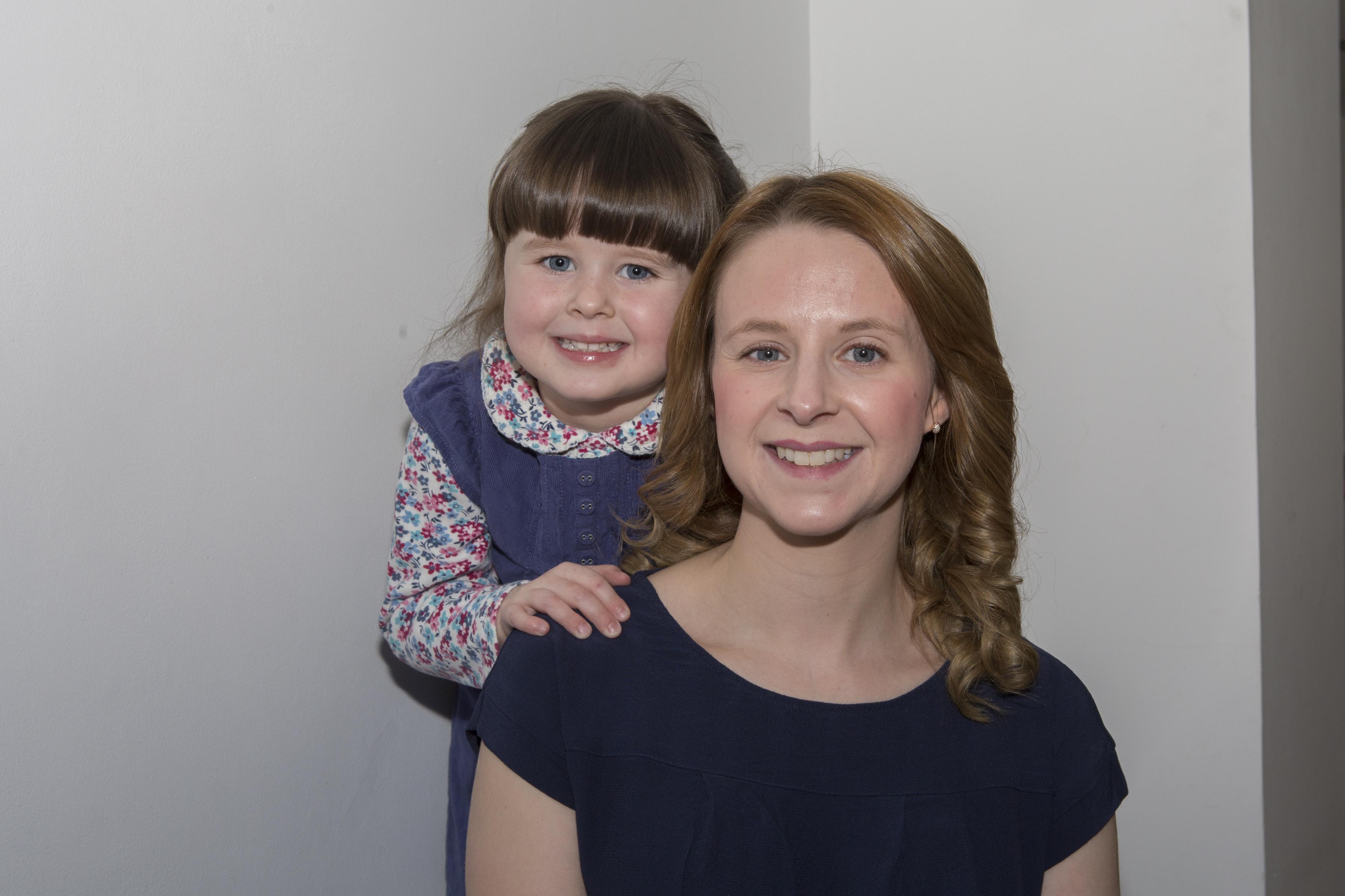 Ashley Miller and her daughter Rosie (Robert MacDonald/Northern Studios)