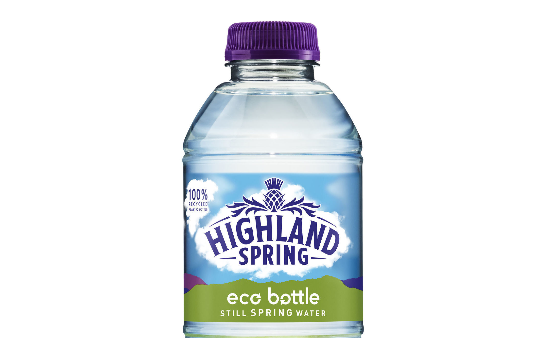 Highland Spring eco bottle (Highland Spring/PA Wire)