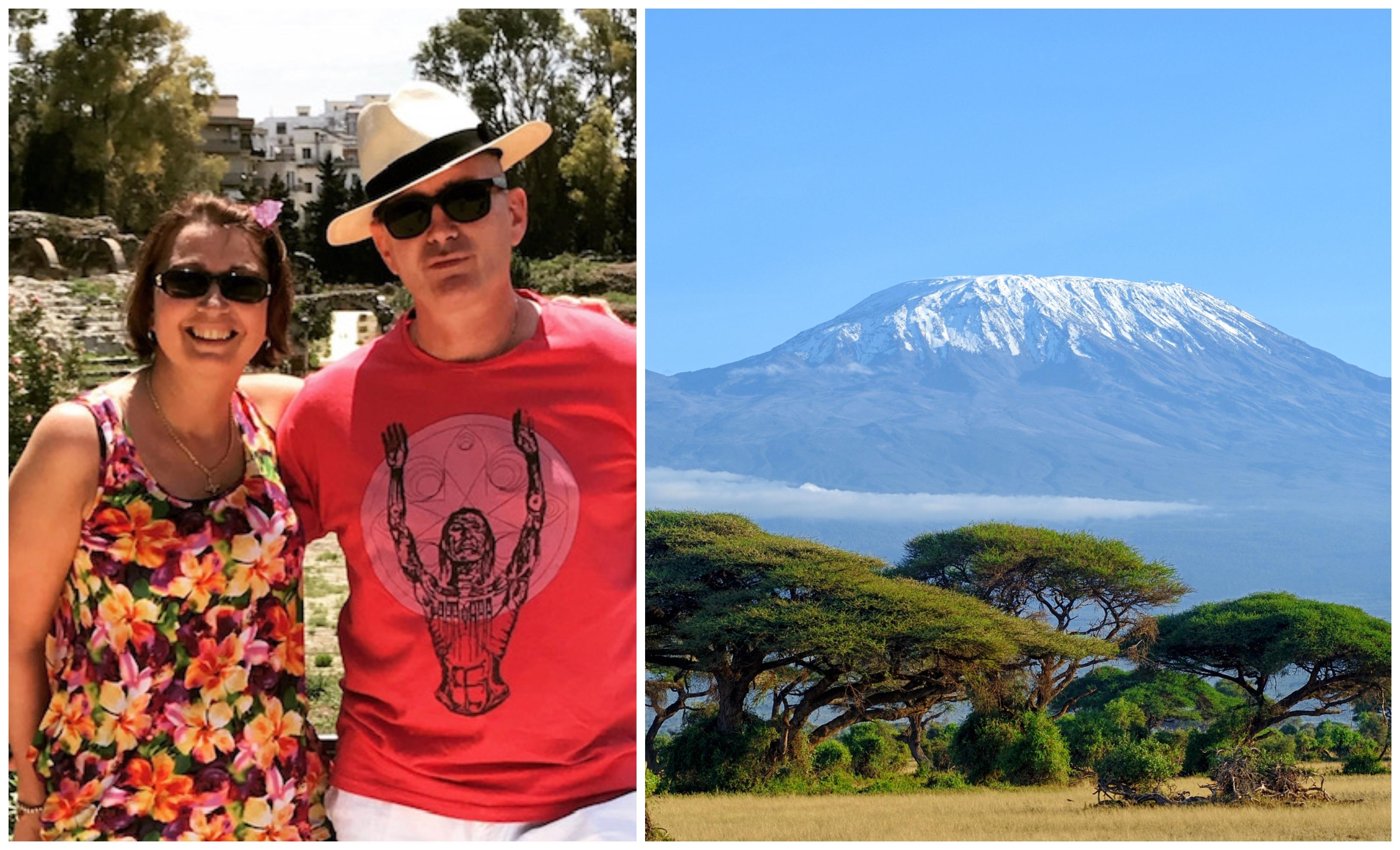 Varry and Jonny Lavin are raising money for TB Alert, with Jonny set to scale Kilimanjaro