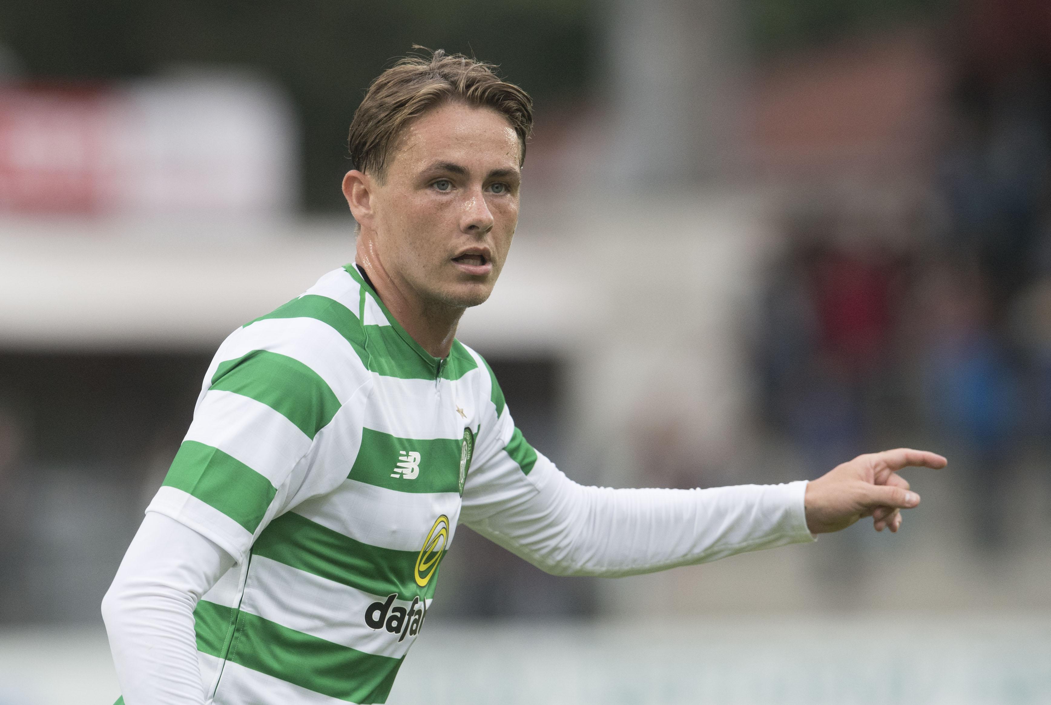Scott Allan in action for Celtic (SNS Group)