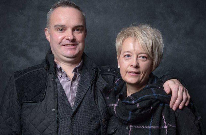 Economy Energy customers Kenny and Shirley Stewart