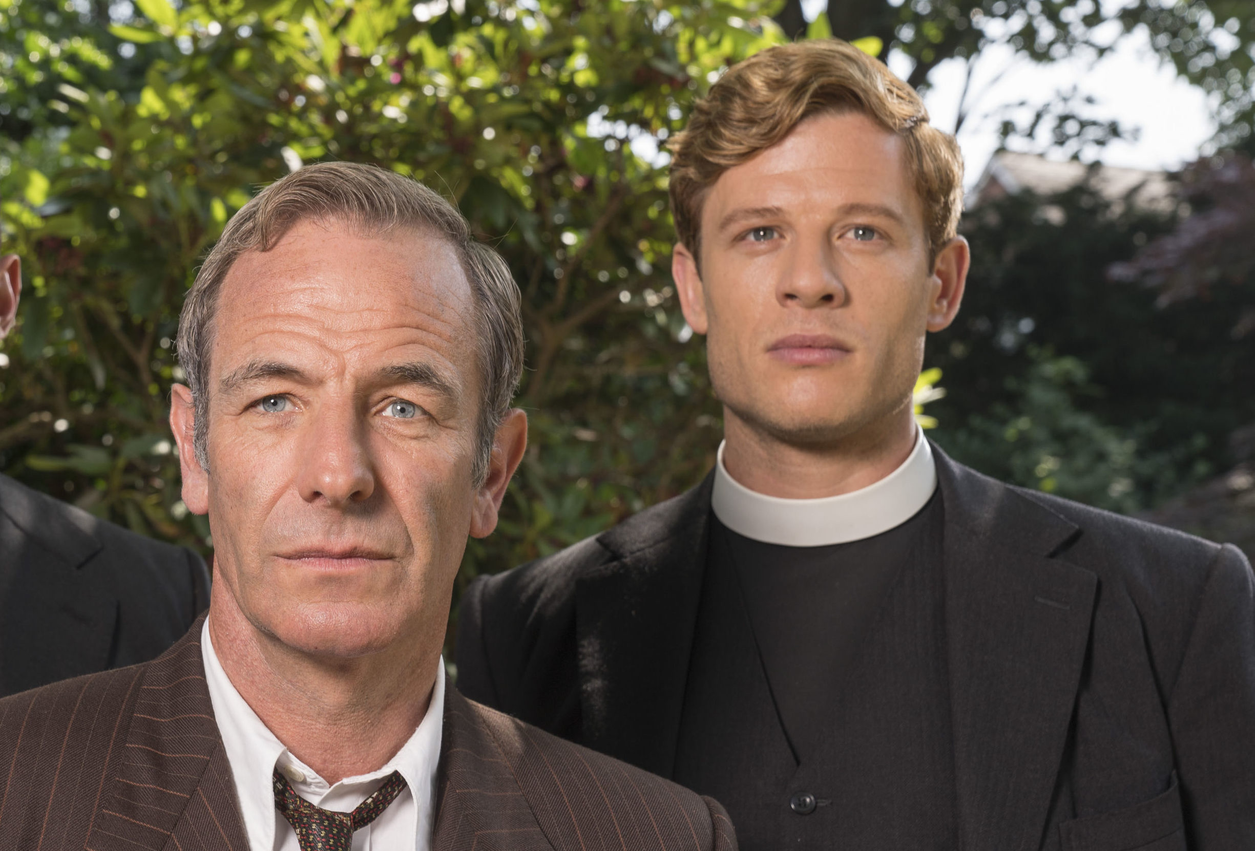 Robson Green with James Norton in Grantchester (ITV/Kudos)