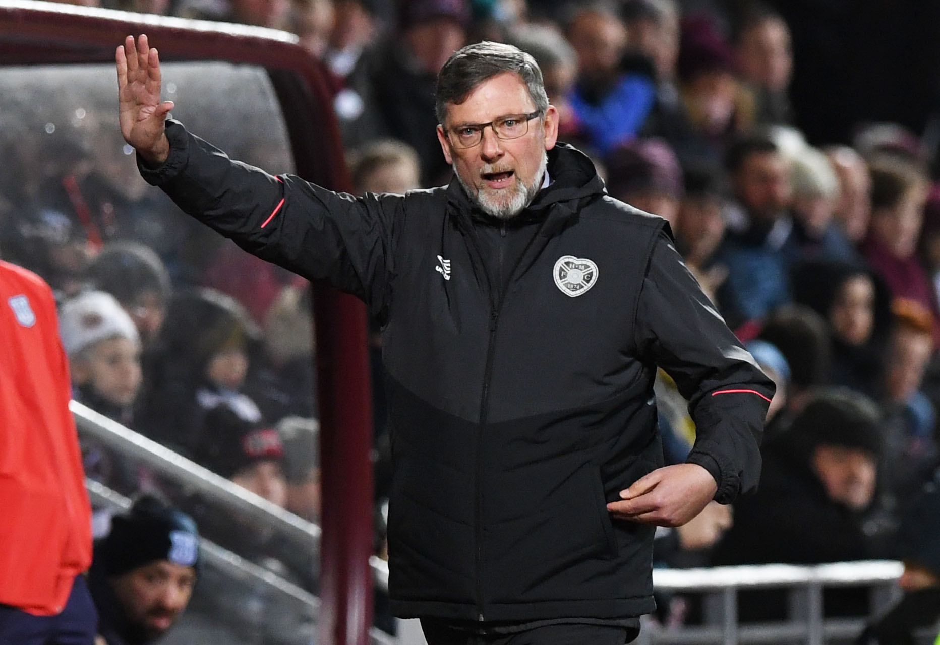Hearts manager Craig Levein (SNS Group / Paul Devlin)