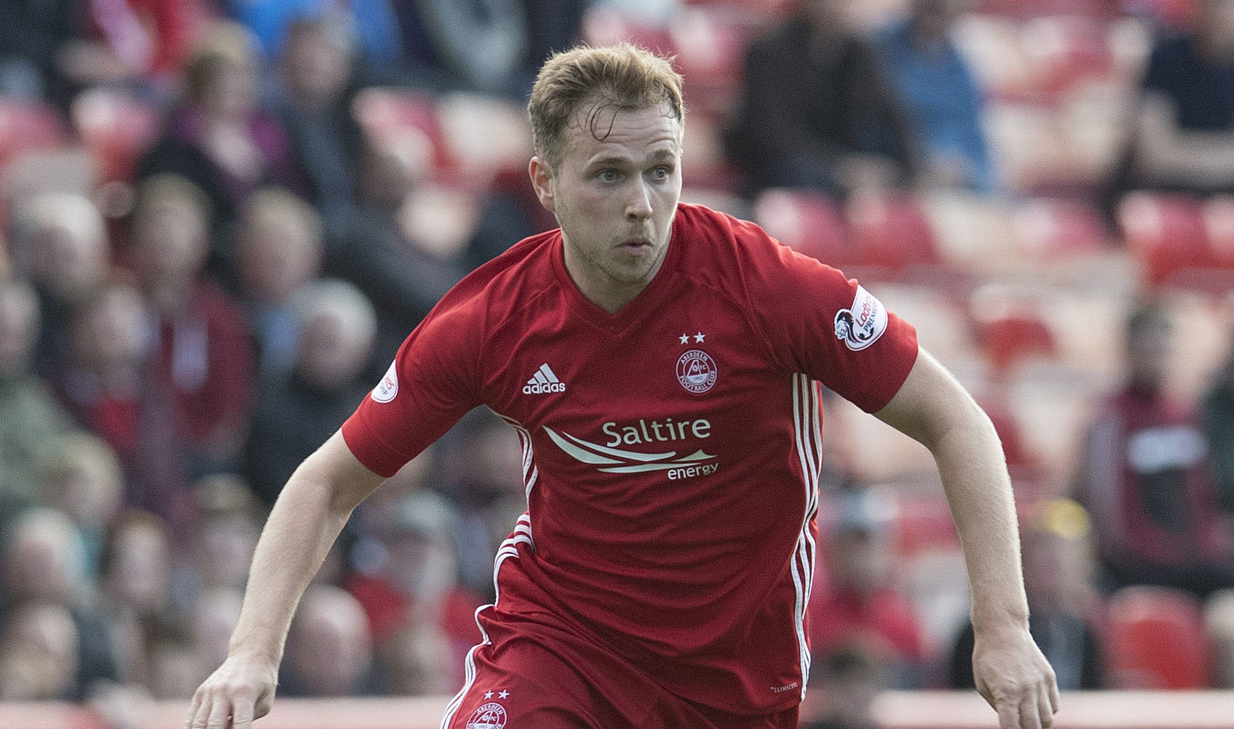Greg Stewart in action for Aberdeen (SNS Group)