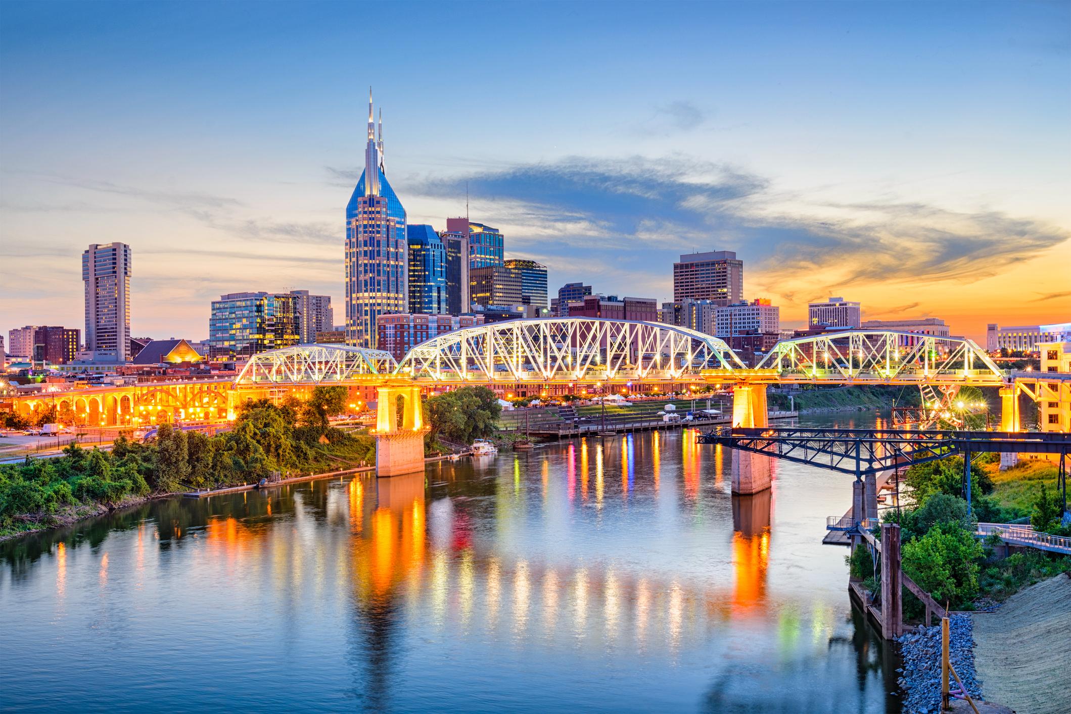 Nashville skyline (Getty Images)
