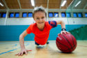 11-year-old Rory Treharne at Maryhill Sports Centre
