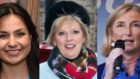 (From left) MPs Heidi Allen, Anna Soubry and Sarah Wollaston who have resigned from the Conservative Party and joined the Independent Group
