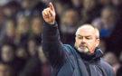 Kilmarnock manager Steve Clarke on the touchline