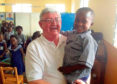 Scotia Aid. Dan Houston. St Clement School Sierra leone.