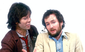 Cliff Richard and Kenny Everett