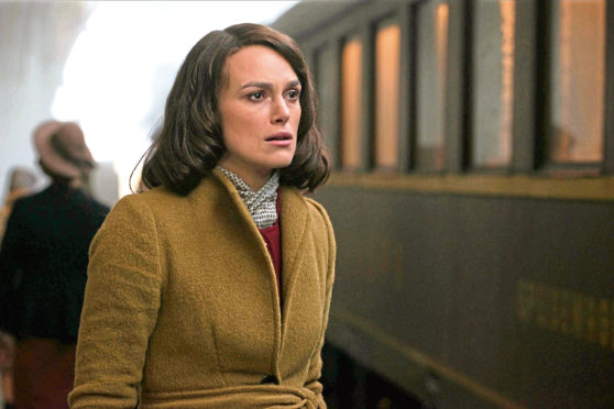 Keira Knightley in The Aftermath