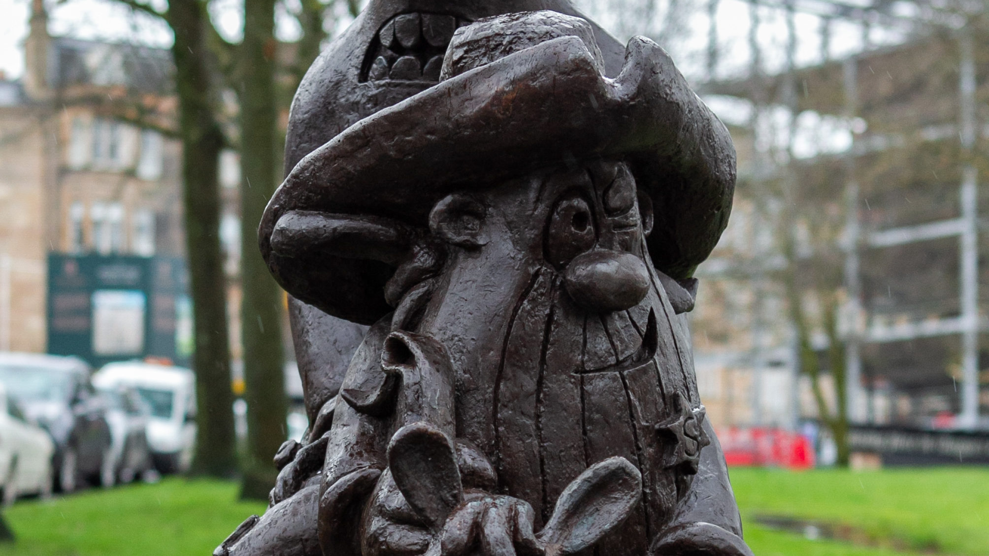 Lobey Dosser statue in Glasgow (Andrew Cawley / DCT Media)