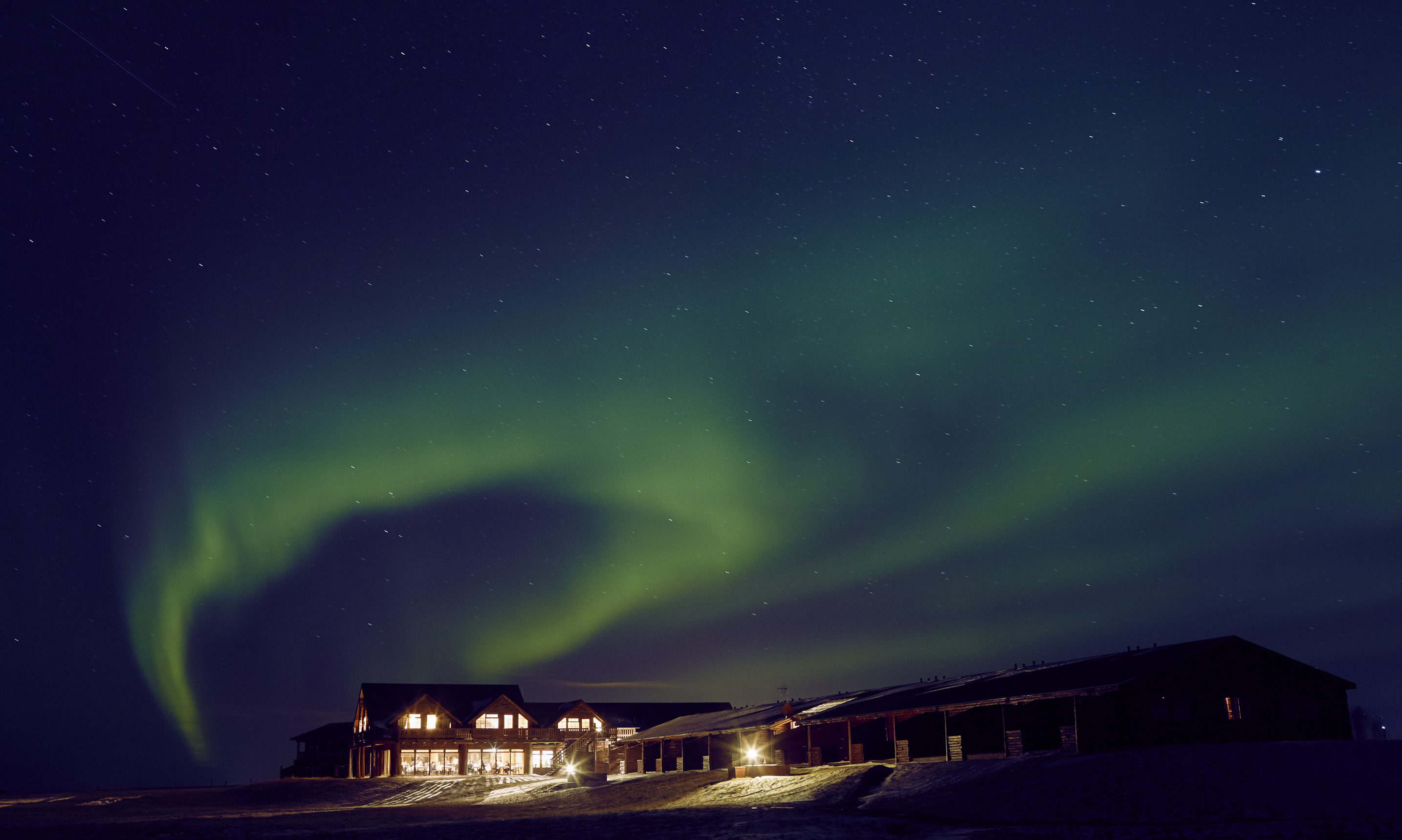 The Hotel Rangá is the ideal base for checking out the beauty of Iceland's natural wonders