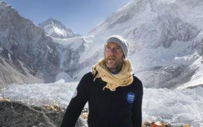 Ben Fogle at Everest Base Camp