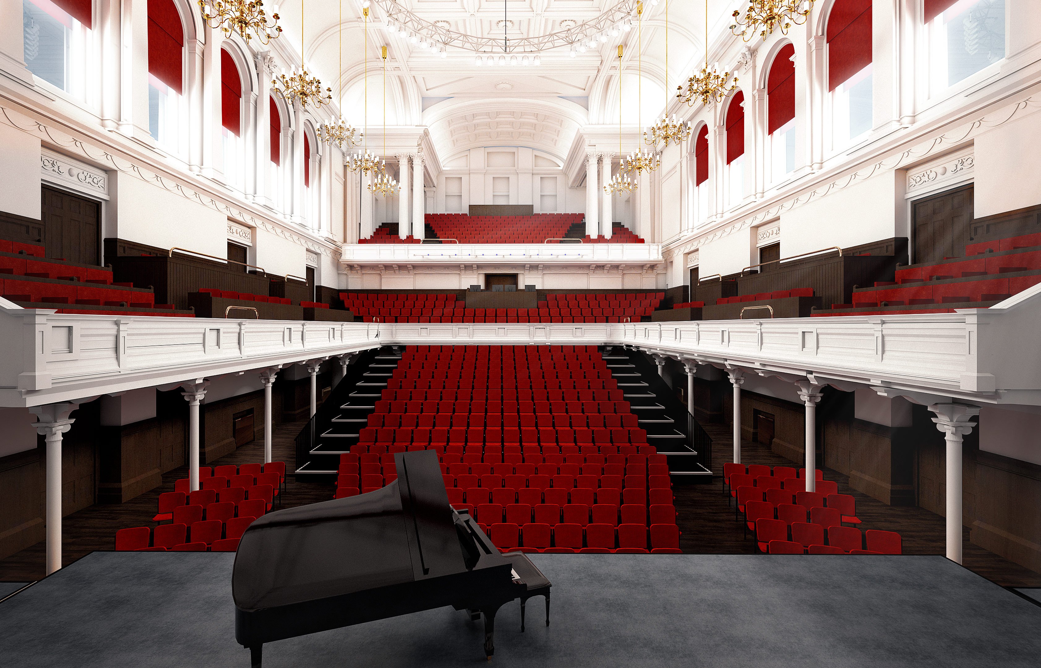 The vision for the new town hall interior (Renfrewshire Council)