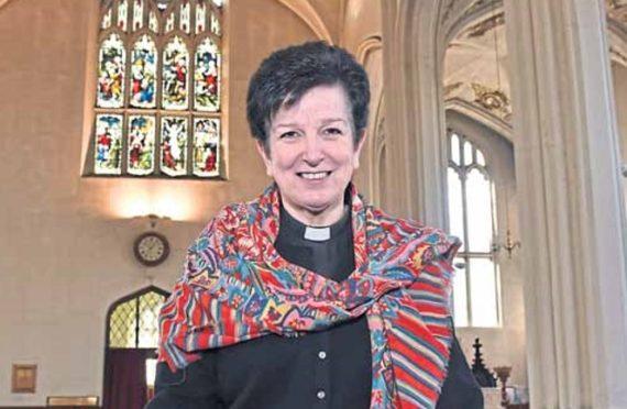 Scotland's first female bishop, Anne Dyer.