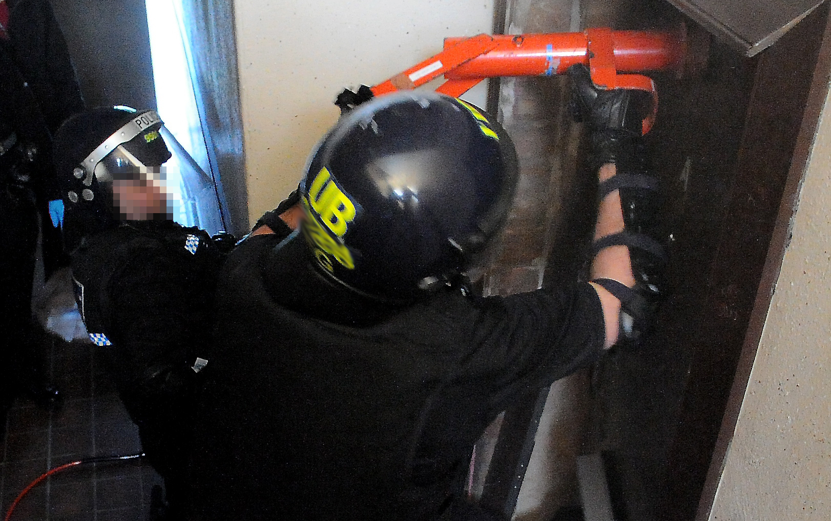 A Police Scotland drugs raid on a flat in the northeast