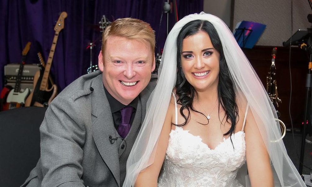 Gary and Cherylanne tie the knot last week