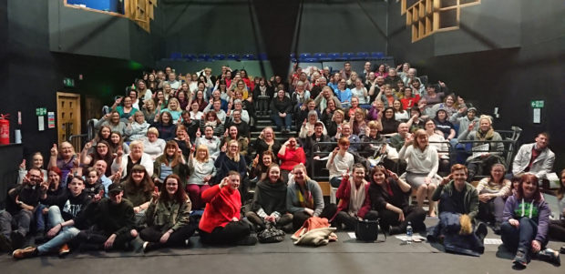 Scores of people came along to the Paisley Arts Centre's Sign Language Club