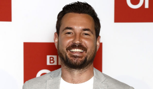 John Phillips Getty Images Martin Compston