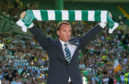 Brendan Rodgers at his Celtic unveiling