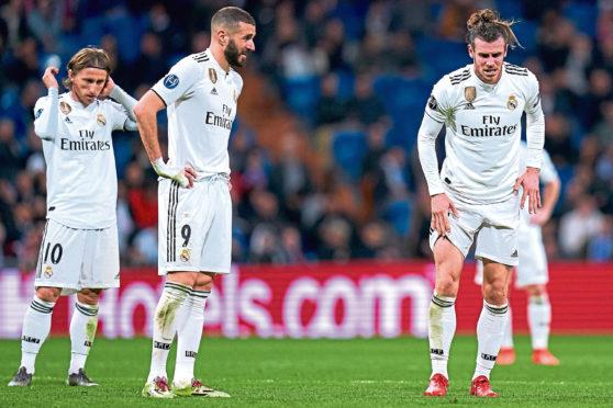 Real Madrid's superstars floundered against Ajax