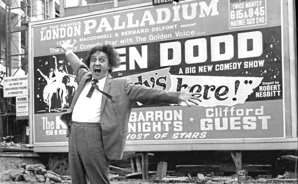 Doddy headlined the London Palladium in 1965