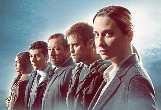 The cast of The Bay, a hard-hitting crime drama set in the English seaside town of Morecambe
