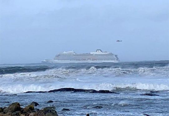 Cruise ship off Norway evacuates 1300 people on board by helicopter