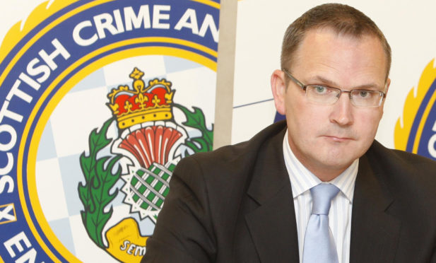 Gordon Meldrum was head of SCDEA at time of the scandal