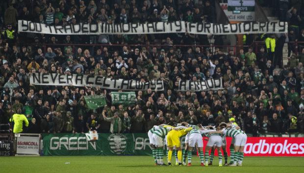 Celtic fans respond to Rodgers' departure