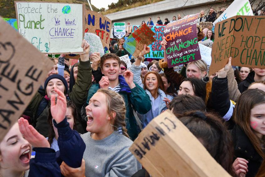 Protests in Edinburgh